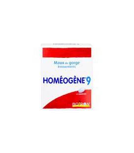 HOMEOGENE 9  40 comprimidos