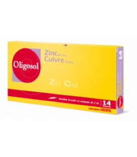 OLIGOSOL ZINC-COBRE 14 AMP