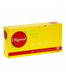 OLIGOSOL ZINC-NÍQUEL-COBALTO 28 AMP