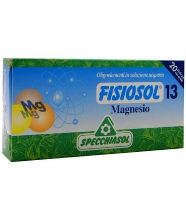 SPECCHIASOL FISIOSOL 13 MAGNESIO 20 AMPOLLAS