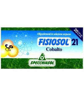 SPECCHIASOL FISIOSOL 21 COBALTO 20 AMPOLLAS