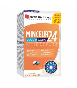 FORTE PHARMA MINCEUR 24 FORT  LOT DE 2