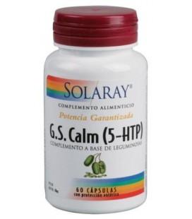 SOLARAY G.S CALM 5HTP 60 CPS