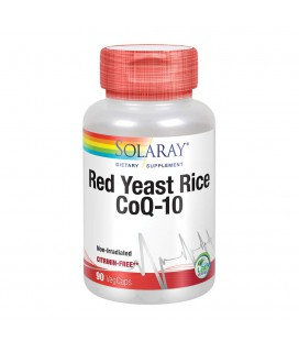 SOLARAY RED YEAST RICE PLUS Q10 60 CP