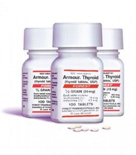 ARMOUR THYROID 30 MG 100 TAB