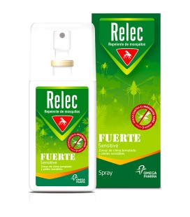 RELEC REPELENTE FUERTE SENSITIVE SPRAY 75 ML