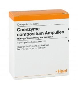 HEEL COENZYME COMPOSITUM 10 AMPOLLAS