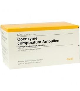 HEEL COENZYME COMPOSITUM 50 AMPOLLAS