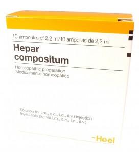 HEEL HEPAR COMPOSITUM 10 AMPOLLAS