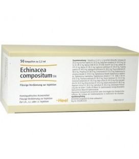 HEEL ECHINACEA COMPOSITUM 50 AMPOLLAS