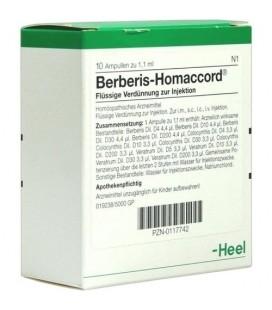 HEEL BERBERIS HOMACCORD 10 AMPOLLAS