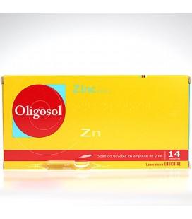 OLOGOSOL ZINC 28 AMPOLLAS
