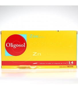 OLIGOSOL ZINC 28 AMPOLLAS