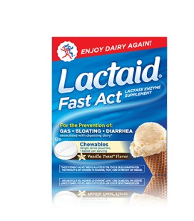 LACTAID FAST ULTRA 60 TABLETAS
