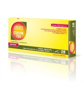 OLIGOSOL NUTRITION COBRE 725 28 AMPOLLAS