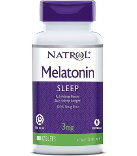 MELATONINA NATROL 3 MG 240 TAB