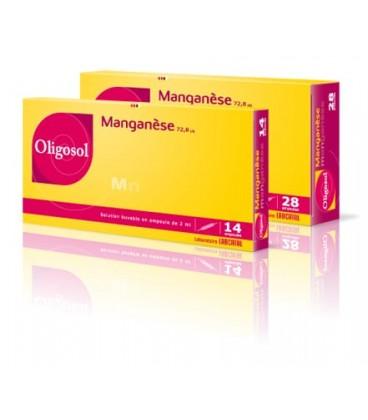 OLIGOSOL MANGANESO 28 AMPOLLAS