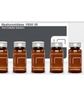 HYALURONIDASE 1500UI 5X10ML