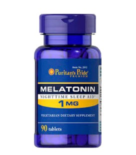 Melatonina 1mg Puritan's Pride 90tab