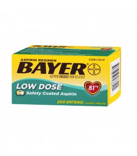 ASPIRINA BAYER 81 MG 200 COMP